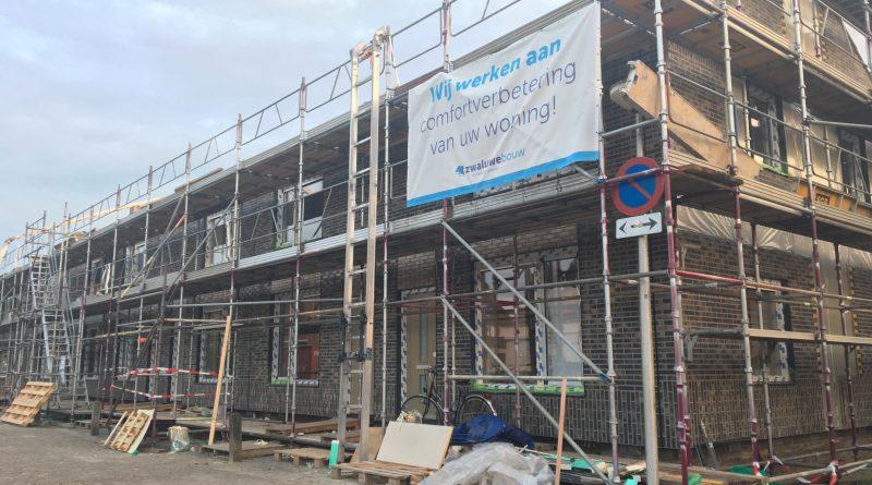 Renovatie 18 huurwoningen aan Liesdel Nieuwpoort